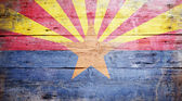 Flag of Arizona — Stock Photo