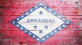 Flag of Arkansas — Stock Photo