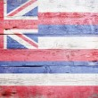 Flag of the state of Hawaii — Foto Stock