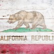 Flag of California - ストック写真