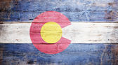 科罗拉多州的旗子 — 图库照片