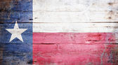 Flagge des Staates Texas — Stockfoto