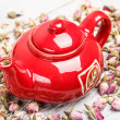 Red teapot — Stock Photo #20400591