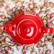 Red teapot — Stock Photo #20400595