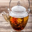 Flowering tea — Stock fotografie