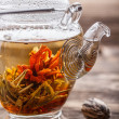 Blooming tea — Foto de Stock