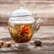 Flowering tea — Stock Photo #20400677