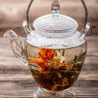 Flowering tea — Stock Photo #20400683