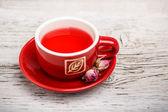 Herbata pąk róży — Zdjęcie stockowe