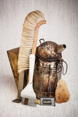 Beekeeping equipment — Stock Photo