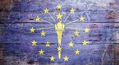 Flag of Indiana — Stock Photo