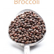 Broccoli seeds — Stock Photo