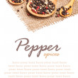 Mix pepper — Stockfoto