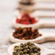 Green peppercorns — Photo