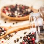 Peppercorn mix — Stock Photo
