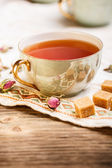 Black tea — Stock Photo