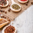 Various spices — Stock Photo #22230439