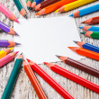 Colorful pencils — Foto de stock #22287191