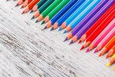 Çok renkli pensils — Stok fotoğraf