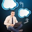 Cloud computing — Stock Photo #22590523