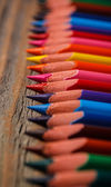 Colored pencils — Foto de Stock
