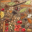 Various spices — Stock Photo #23301454