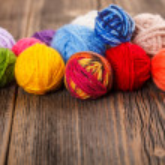 Knitting yarn — Stock Photo