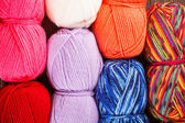 Knitting yarn — 图库照片