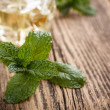 Fresh mint leaves — Stock Photo #23361300