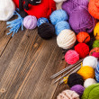 Royalty-Free Stock Photo: Ball of yarn