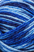 Blue wool yarn — Stock Photo