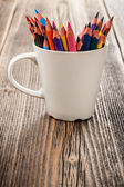 Copa com lápis — Foto Stock