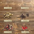 Stock Photo: Different spices