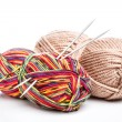 Yarn and needles — Stock Photo #23505439