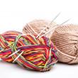 Yarn and needles — Stock Photo #23505439