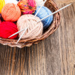 colorful yarn — Stock Photo
