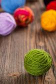 Bugna lana verde — Foto Stock