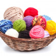 Knitting yarn — Stock Photo #23632527
