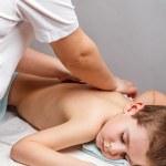 Children massage — Stock Photo #23632573