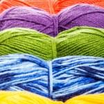 Set of knitting yarn — Stock Photo #23632579