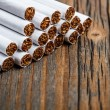 Stack of cigarette — Stock Photo #23760415