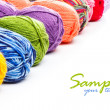 Knitting yarn — Stockfoto #23760449