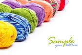 针织纱 — 图库照片