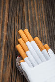 Pile of cigarettes — Stock Photo
