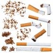 Set of cigarettes - Stock Photo