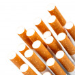 Stock Photo: Cigarette filters