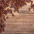Brown coffee beans — Stock fotografie