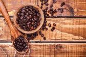 Roasted brown coffee — Stockfoto