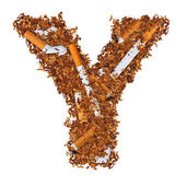 Y письмо — Стоковое фото