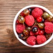 Mixed berries — Stock Photo #27884481